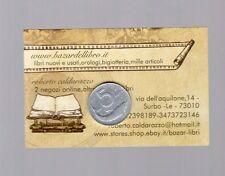 repubblica moneta 5 lire 1973