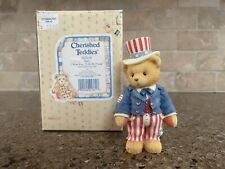 cherished teddies figurines Retired 302619 Sam I Want You.To Be My Friend