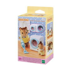 Sylvanian Families Sf5445 Laundry & Vacuum Cleaner