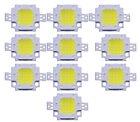 10Pcs DC 9-12V 10W Cool White High Power 800-900LM SMD LED Lamp Flood Light Chip