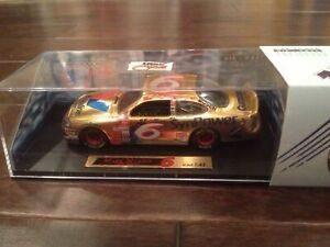 Mark One Die Cast Car 1:43 Mark Martin, Gold #6 Valvoline SynPower/Ford Taurus