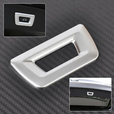 Chrome Trunk Release Unlock Switch Cover Button decor Trim for BMW X3 X5 3 5 7er