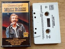 """Marty Robbing - """"country ledged"""" cassette"""