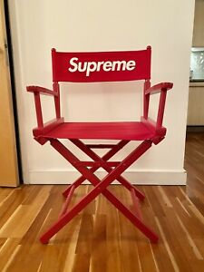 Supreme Director Chair Red