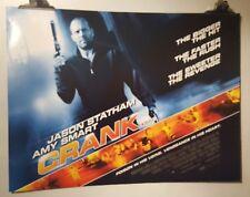 Kurbel Original Cinema Filmposter Quad Jason Statham Amy Smart