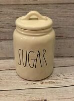 """NEW Rae Dunn By Magenta """"SUGAR""""  2017 dimples Baby Small Canister/Jar  VHTF"""