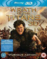 Wrath of the Titans (3D Blu-ray, 2012)