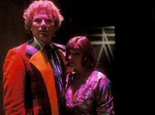 Colin Baker and Nicola Bryant UNSIGNED photo - H8057 - Doctor Who
