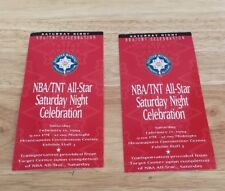 nba tnt all star Saturday night celebration 1994 pair of tickets Minnesota