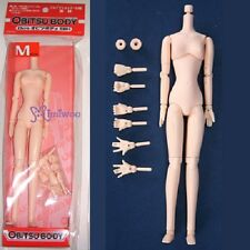 Obitsu 23cm Girl BJD Blythe Body Replacement SBH-M Soft Medium Bust 03 Natural