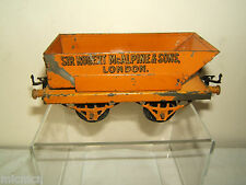 """VINTAGE HORNBY """"0""""MODEL  No1  'McALPINE' ROTARY TIPPING WAGON"""