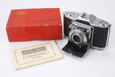 ZEISS CONTINA I 522/24, 45/3.5 NOVAR-ANASTIGMAT, BOXED, AS-IS/cks/189172