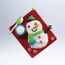 Hallmark Series Ornament 2012 Season's Treatings #4 - Baking Sheet - #QX8074-SDB