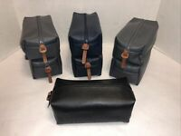 "7 COLE HAAN Personal amenity travel cosmetic bags 7.5""x3""x3.5"" Groomsmen Gifts"