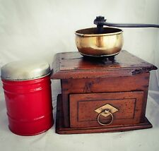 Large COFFEE GRINDER antique MILL Moulin a cafe Molinillo Kaffeemuehle 3.585 gr!