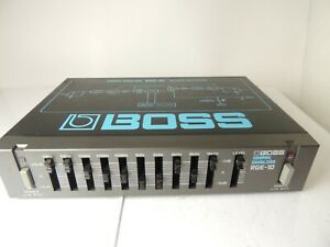 Boss RGE-10 Micro Rack 10 Band Equalizer EQ Effects Processor