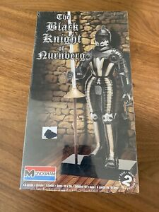 Black Knight of Nurnberg by Monogram ex Aurora 1/8 scale model NIB Sealed