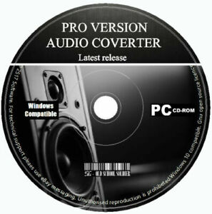 Pro Audio Converter Encoder Editor Extract Audio From Video Files MP3 WAW PC CD