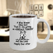 Airedale Terrier Dog,Waterside Terrier,Airedale King,Bingley Terrier,Cup,Mugs
