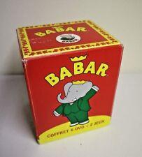 "COFFRET DE 6 DVD."" BABAR """