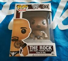 Funko Pop! Wwe The Rock #03 Vaulted Retired