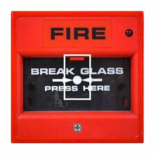 Funny Novelty Break Glass Fire Alarm Light Switch Vinyl Sticker Cover Skin Decal