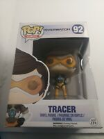 New Funko POP Games Overwatch Tracer Vinyl Figure #92 Loot Crate Exclusive