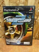 Need for Speed: Underground 2 (Sony PlayStation 2, 2004) PS2 Complete W/ Manual