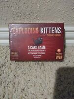 Exploding Kittens - Original Ed. Family Card Game 2015 Ages 7+ NEW