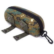 Custodia rigida portaocchiali militare porta occhiali gancio cerniera BOSCHIVO