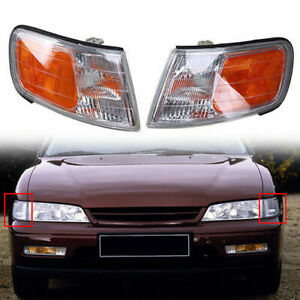 Pair Corner Marker Turn Light Signal Side MDA52Z For Honda Accord 94-97
