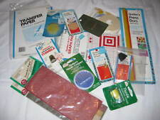 16 Pieces Quilting Notions - Needles, Press Bars, Tracing Paper, Thimbles