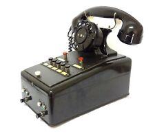 ANTIQUE VINTAGE BERN SWISS GUSTAV HASLER AG ZENITH EARLY SWITCHBOARD TELEPHONE