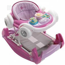 Mychild Coupe 2-in-1 Baby Walker Pink