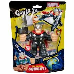 Heroes of Goo Jit Zu Marvel Superheroes - Super Squishy Thor Figure