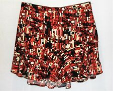 ZARA Brand Retro Geo Printed Short Skirt Size L NEW #AN02