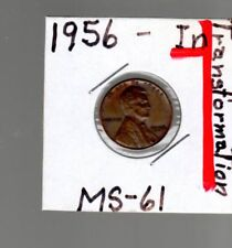 Error coin  1956 1C penny