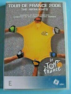 LE TOUR DE FRANCE 2006 The Highlights DVD NEW SEALED Region 4