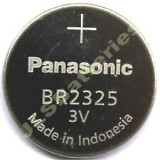 5 x Panasonic 2325 Lithium Batteries 3v CR2325 BR2325
