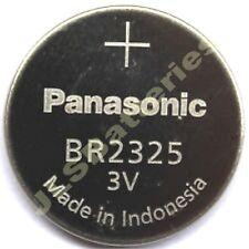 6 x Panasonic 2325 Lithium Batteries 3v CR2325 BR2325