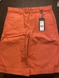 Vineyard Vines Boys Breaker Shorts, size 14, Jetty Red