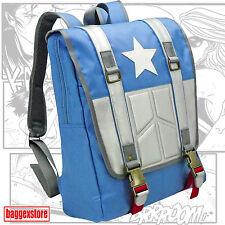 Captain Backpack America Youth School Rucksack Teenager Comic Daypack Book Bag