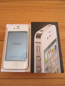 CL/IPHONE 4/WHITE/8GB/MD440LL/A/VERIZON/NO SIM CARD!