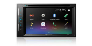 """NEW Pioneer Double 2 Din AVH-240EX DVD/MP3/CD Player 6.2"""" Touchscreen Bluetooth"""