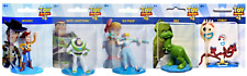 Disney Pixar Toy Story 4 Figurines Set of 5 Woody, Bo...