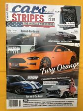 Cars and Stripes 2 / 2020 The American way of drive  Dodge Viper, Chevrolet 3100