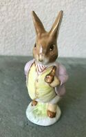 Royal Albert England Beatrix Potter Figurine Mr Benjamin Bunny Vtg 1989 Beswick