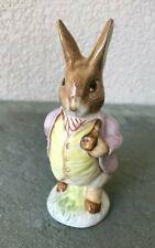 Royal Albert England Beatrix Potter Figurine Mr Benjamin Bunny Vtg 1989 Beswick