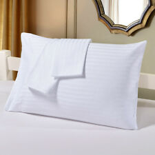 2X Cotton Pillow Cases Covers Pillowcases  Standard/Queen/ King Size Solid Color