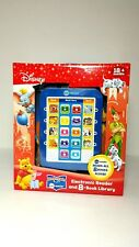 Disney Electronic Reader With 8 Books Nemo Dumbo Lion King 18 Months+ New